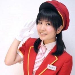 鉄道タレントの木村裕子さん