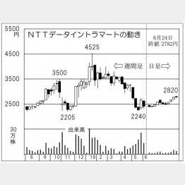 NTTデータイントラマート(C)日刊ゲンダイ