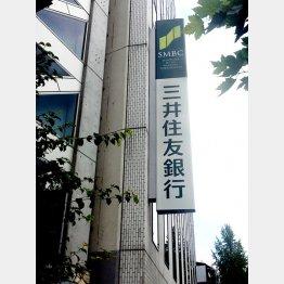 三井住友銀行(C)日刊ゲンダイ