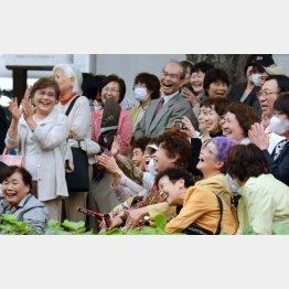 よく笑う人の方が長生き!?(C)日刊ゲンダイ