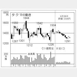 タクマ(C)日刊ゲンダイ