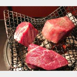 「又三郎」の熟成された肉…/(提供写真)