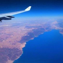 チュニジア特別編 丸い地平線と地中海を望む空からの絶景