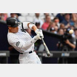 29日のロンドンシリーズで本塁打を放ったジャッジ(C)ロイター/USA TODAY Sports