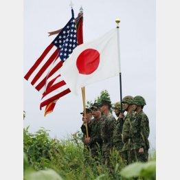 自衛隊が名実ともに米軍の傭兵に…(C)共同通信社