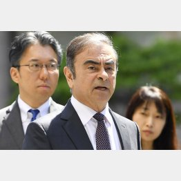 ゴーン日産自動車前会長は16億円(C)共同通信社