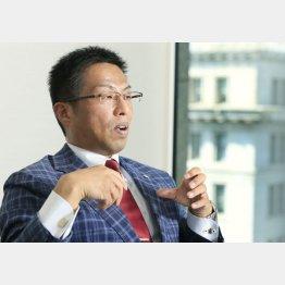 オウケイウェイヴ 兼元謙任会長(C)日刊ゲンダイ