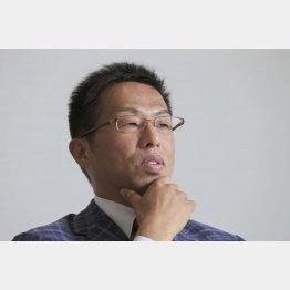 オウケイウェイヴの兼元謙任社長(C)日刊ゲンダイ