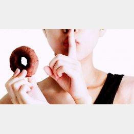 間食した分のカロリーは食事量を減らして調整すること