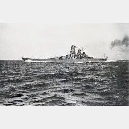 旧日本海軍の戦艦大和(C)共同通信社