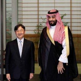釈然とせず…テロが疑われるサウジ皇太子と天皇陛下の会見