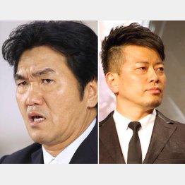 島田紳助(左)と宮迫博之(C)日刊ゲンダイ