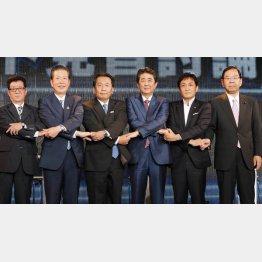 参議院選挙2019「ネット党首討論」/(C)日刊ゲンダイ
