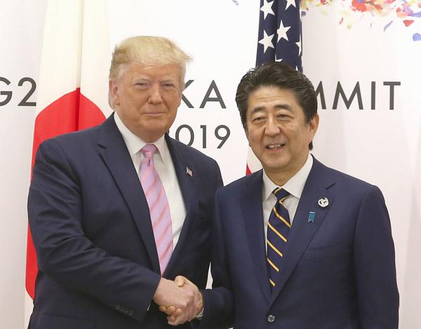 「日本は米国も助けるべきだ」(C)日刊ゲンダイ