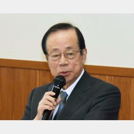 「国家の破滅に近づいている」と福田元首相(C)日刊ゲンダイ