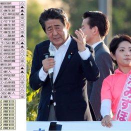 東北は依然苦戦…安倍首相「応援演説」激戦区は13勝14敗も