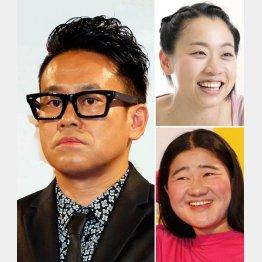 内定していた宮川大輔(左)が頓挫…。いとうあさこ(右上)とガンバレルーヤ・よしこ(右下)は決定(C)日刊ゲンダイ