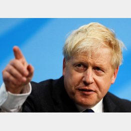 イギリス新首相に有力といわれるのジョンソン氏(C)ロイター