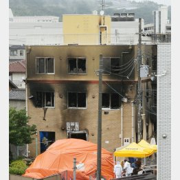 京都アニメーションの建物(C)日刊ゲンダイ
