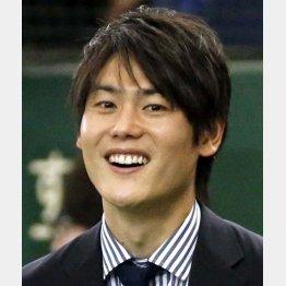 日本テレビの上重聡アナウンサー(C)日刊ゲンダイ