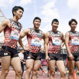 男子100m×4今季ベストの2位で…東京五輪走者選びは大混戦