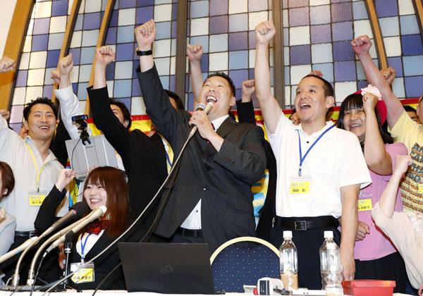 NHKから国民を守る党」まさかの議席獲得\u2026NHKは戦々恐々|日刊