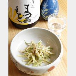 合う酒=澤屋まつもと(C)日刊ゲンダイ