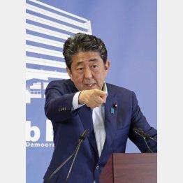 強気を見せたが…(安倍首相)/(C)日刊ゲンダイ
