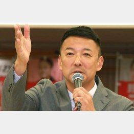 メディアに無視されても2議席(「れいわ新撰組」の山本太郎代表)/(C)日刊ゲンダイ