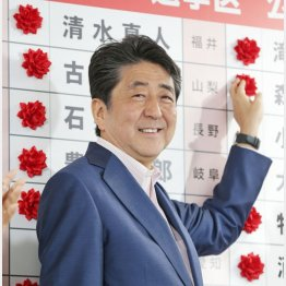 実態は敗北!(安倍首相)/(C)日刊ゲンダイ