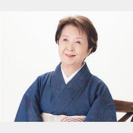 作家の下重曉子さん(提供写真)