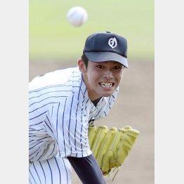 大船渡の佐々木朗希投手(C)日刊ゲンダイ