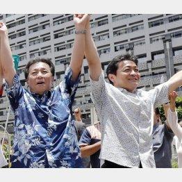 参院選のチャンスをみすみす逃した2人(左から、立憲民主の枝野代表と国民民主の玉木代表)(C)共同通信社