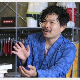TOOT社長の枡野恵也さん(C)日刊ゲンダイ
