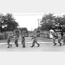 青年将校たちが処刑された陸軍衛戍刑務所(C)共同通信社