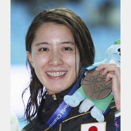東京五輪では笑顔が見られるか(C)共同通信社