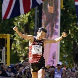 2017年の世界陸上50キロ競歩で銀メダルの荒井広宙