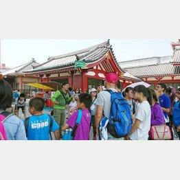 訪日観光客はますます増える(C)日刊ゲンダイ