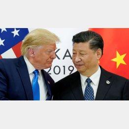 トランプ米大統領と習近平中国国家主席(C)ロイター