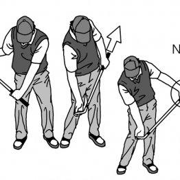 アプローチはクラブ全体を動かすイメージで手打ちを防止