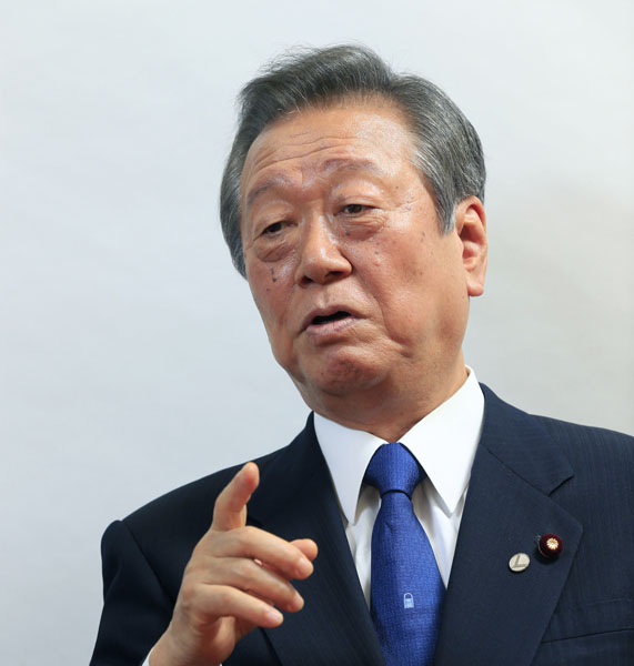 小沢一郎衆院議員(C)日刊ゲンダイ