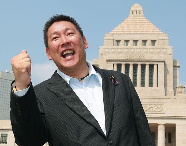 NHKを本当にぶっ壊すのか(立花議員)(C)日刊ゲンダイ
