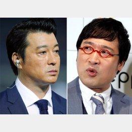 加藤浩次(左)と山里亮太/(C)日刊ゲンダイ
