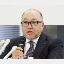 スバルの岡田稔明専務(C)共同通信社