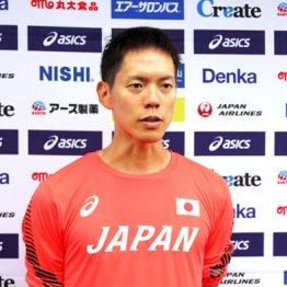 コース変更を訴える競歩代表の鈴木雄介