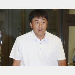 楽天の石井一久GM(C)日刊ゲンダイ