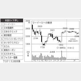 シーイーシー(C)日刊ゲンダイ