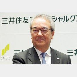 全銀協の高島会長は期待を寄せるが(C)日刊ゲンダイ