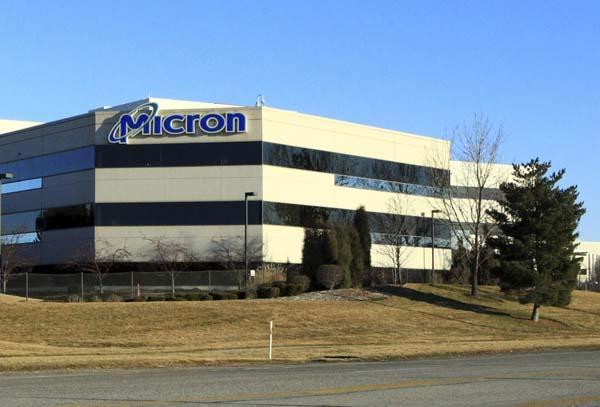 マイクロン・テクノロジー社の米国オフィス(C)ロイター