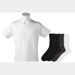 臭わない靴下とTシャツ(興和堂が販売する「Deol」シリーズ)/(提供写真)